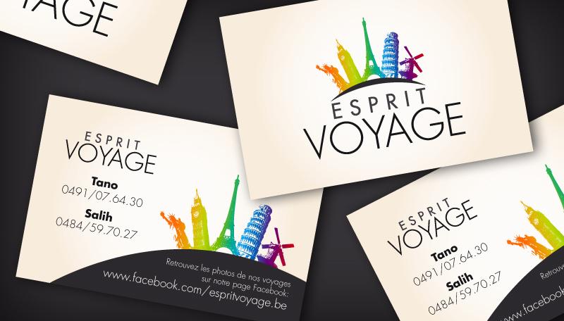Carte De Visite Esprit Voyage